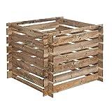 Nordje Komposter Aksel 100x100x71cm aus Holz