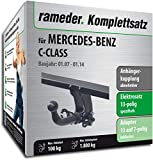 Rameder Komplettsatz, Anhängerkupplung abnehmbar + 13pol Elektrik für Mercedes-Benz C-Class (123629-06224-1)