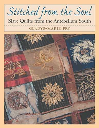 Stitched from the Soul: Slave Quilts from the Antebellum South (Chapel Hill Book) -
