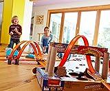 Mattel Hot Wheels DGD30 - Doppel-Booster Powerbahn, Spielbahn -
