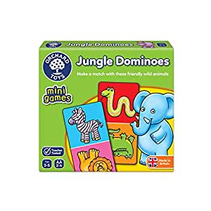 Orchard Toys Jungle Dominoes Mini / Travel Game