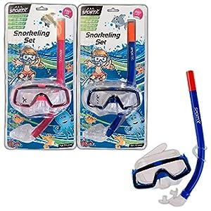 SPORTX - Juego de Snorkel para niños