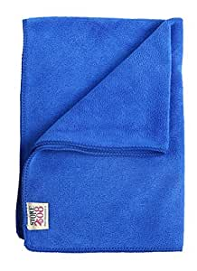 Store2508 Large Size (40 x 60 cm) High Absorbent 420 GSM Microfibre Microfiber Cloth Duster for Home, Car, Office, Furniture Etc. (Royal Blue Colour) (Pack of 1)