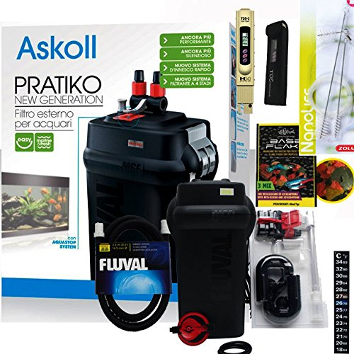Askoll - Pratiko 100 New Generation - Filtro externo para acuario, hasta...
