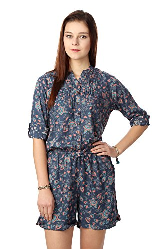 People Women's Dress Material (P10202991530390_Petrol_Medium)  available at amazon for Rs.499