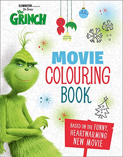 The Grinch: Movie Colouring Book (Grinch Movie Tie in) por Sin autor