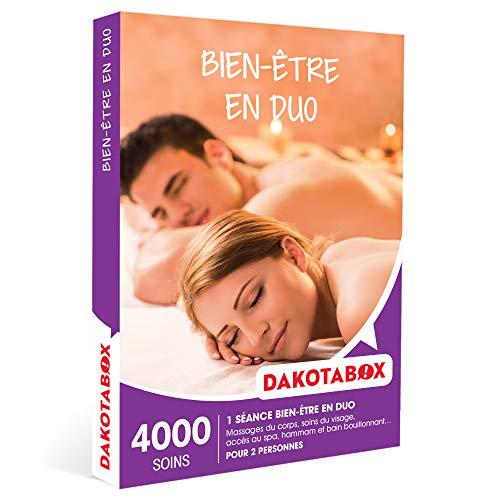DAKOTABOX - Bien-être en duo - Coffret Cadeau Bien-être - 1 séance bien-être pour...