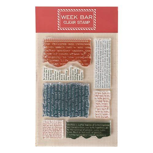 Wiffe Silikonstempel Set - Clear Stamps - Stempel - Weihnachten Thanksgiving Dekor