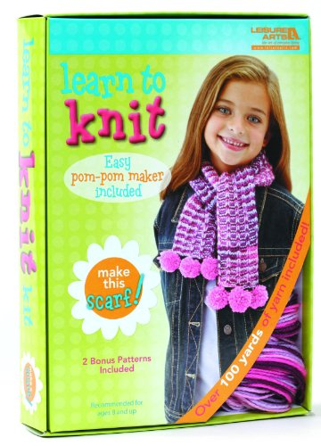 Learn to Knit: Scarf Kit (Ties Pack Knit)