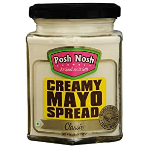 Posh Nosh Creamy Mayonnaise Spread 235 gm (Classic Flavour)