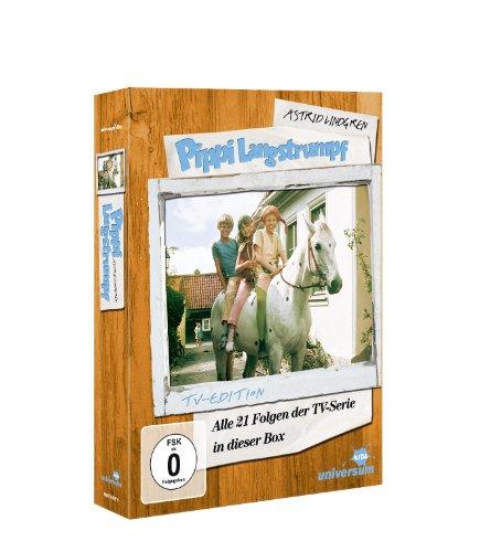 Astrid Lindgren: Pippi Langstrumpf - Alle 21 Folgen der TV-Serie in dieser Box (TV-Edition, 5 Discs): Alle Infos bei Amazon