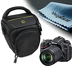MegaGear Ultra Light High Quality Professional Camera Case Bag for Nikon D610, Nikon D7100, Nikon D7200 with 18-105, with 18-140 lens D3200, D3300, D5300, D5500 cameras