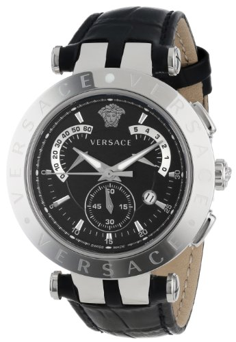 Versace-Mens-23C99D008-S009-V-Race-Stainless-Steel-Watch-with-Leather-Band