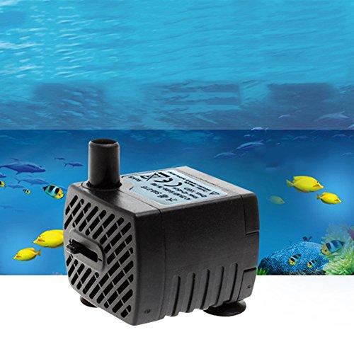 Lianle® Luftpumpe Sauerstoff Pumpe AQUARIUM Sauerstoff Fisch Tank A (Aquarium Für Doppel-luftpumpe)