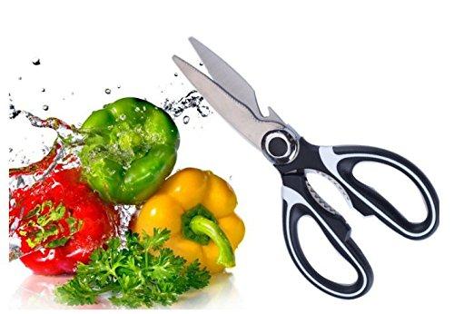 Axibi Küchenschere, Edelstahl zu Hause Mehrzweck starke Küche Lebensmittel Dienstprogramm Schere Axibi Küchenschere, Edelstahl zu Hause Mehrzweck starke Küche Lebensmittel