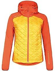 ICEPEAK Mujer Jacket Grete, primavera/verano, mujer, color Naranja - Abricot, tamaño 44 [DE 42]