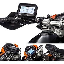 """UltimateAddons–UltimateAddons–moto liberación rápida 21–30mm Soporte de manillar de moto con dedicado para TomTom Rider v54,3"""""""