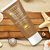 New body Bronze Self hand Sun tan Tanning Enhance Lotion Day tanning cream natural bronzer Sunscreen tanner lotion for female