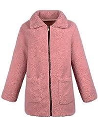 9276d84646 Amazon.it: la lana - Rosa / Giacche e cappotti / Donna: Abbigliamento