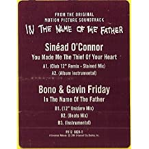 You Made Me The Thief Of Your Heart / In The Name Of The Father [Vinyl Single 12'']