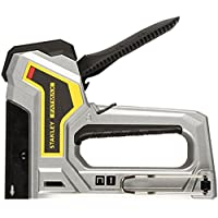 Stanley FatMax Handtacker / Nagler (AntiJam, Klemmschutz, für Typ G 6 mm-14 mm und Stifte/Nägel Typ 18J 12 mm-15 mm) 6-TR350