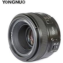 Yongnuo YN50mm f1.8N AF/MF Standard Prime lente para Nikon D7100D5500D810A D800