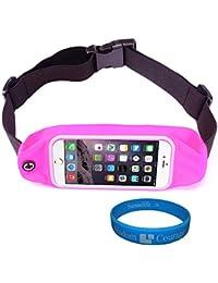 Sumaclife Outdoors Sport Running Belt Waist Fanny Pack Pouch Case - Lg Escape2 / Lg G2 / Lg Transpyre / Lancet... - B012Z7UJVA