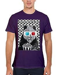 3D Glasses Panda Cinema Popcorn Novelty Femme Homme Men Women Unisex Top T Shirt