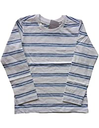 Next - T-Shirt à manches longues - À Rayures - Garçon bleu bleu/blanc