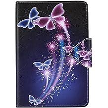 Samsung Tab S2 8'' Carcasa,Ultra Delgado Ligero Protección Funda de Cuero Piel Book Cover Smart Case para el Tablet Samsung Galaxy Tab S2 8.0 Pulgadas SM-T710 SM-T715 SM-T719N Funda Carcasa Caso con Soporte
