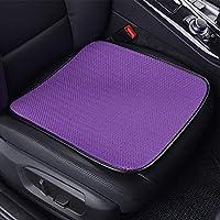 GC Four Seasons Coche Asiento Cojín Transpirable Cubierta Interior Pad Mat para Auto Suministros Oficina Silla,Purple