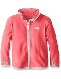 Helly Hansen K Daybreaker Fleece Jacket - Chaqueta unisex para niños, color rojo (239 sorbet), talla 5