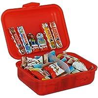 Caja de Almuerzo Regalo de Navidad con Ferrero Kinder Navidad Especialidades, 267g