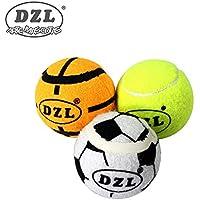 DZL® Pelota para perros una bolsa 3 unidades  fútbol baloncesto béisbol  grande 840f60d3044