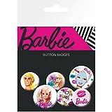 Barbie - Mix, 4 X 25mm & 2 X 32mm Chapas Set De Chapas (15 x 10cm)