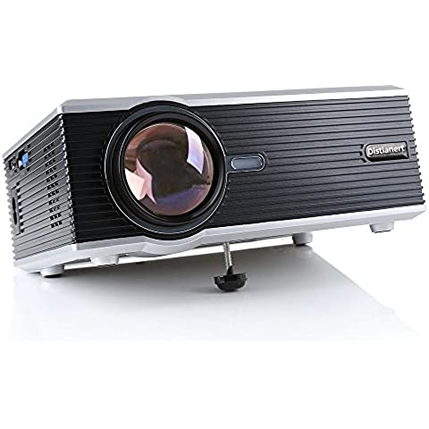Home Mini Proiettore, Distianert 1200LM LED 1920X1080P