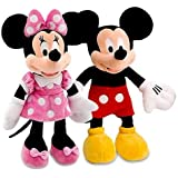 west feen Kid's Fav Mickey Minnie Mouse Stuffed Soft Toys-Medium