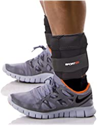 Sporteq Réglable Bracelet Cheville Poids Resistance Entraînement Force Exercice Bracelets Sangles Gym, 1.5kg, 2.5kg,5kg