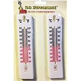 Lote de 2 termómetros