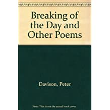 Breaking of the Day and Other Poems