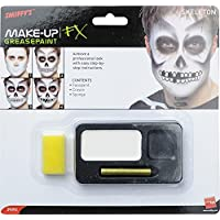Smiffy's Kit de Maquillage de Squelette Halloween