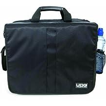 UDG U9470BL/OR Ultimate DeLuxe - Bolso bandolera para dj, color negro y naranja