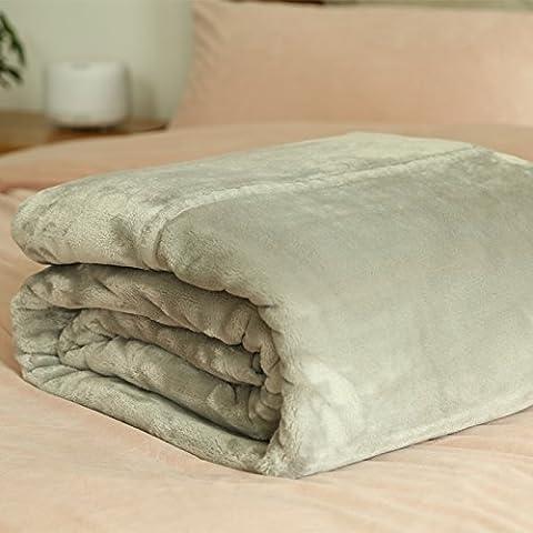 XQXMuji ispessito doppio strato di copertura invernale coperta tappeto corallo Biancheria da letto , 140cmx200cm