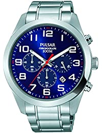 Pulsar Gents Chronograph Stainless Steel Bracelet Watch