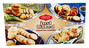 Bikaji Just Baked Assorted Cookies 400 Grams