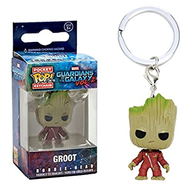 Porte-Clés Pocket Pop ! Keychain - Marvel Les Gardiens de la Galaxie vol.2 - Bobble-Head Groot