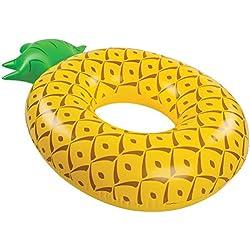 BigMouth Inc – Flotador Hinchable Ananas Gigante – Inflable Colchoneta Piscina Playa