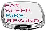 Rikki Knight Eat Sleep Bike Rewind Pink ...