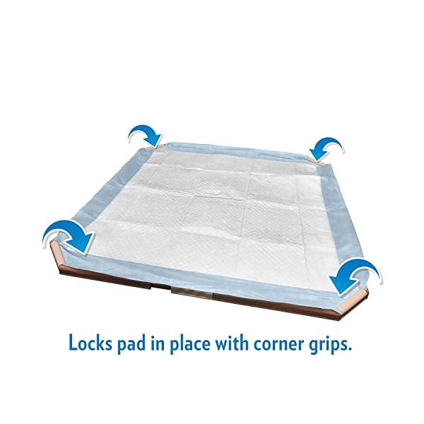 Simple Solution Dog and Puppy Pad Holder, Regular or Large Sized Training Pads 4