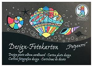 Ursus 11456499SE Arte de Papel 60hojas - Papel Decorativo (Arte de Papel, 60 Hojas, 300 g/m²)